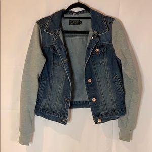 Jean Jacket Sweatshirt